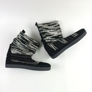 Toms Black Suede Nepal Boot H6514867
